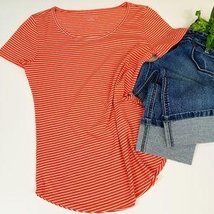 Ann Taylor striped T- Shirt Size M